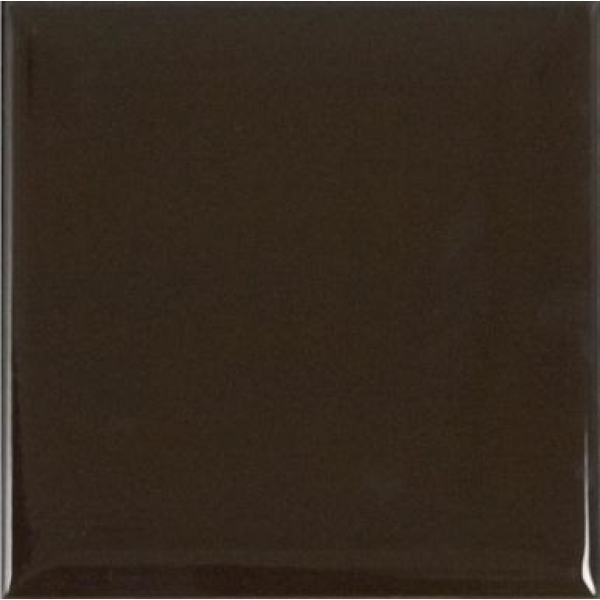 Monopole Ceramica Monocolor Chocolate Brillo Bisel Плитка настенная