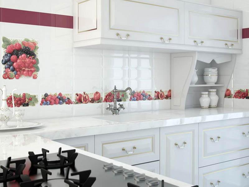 Настенная плитка как элемент украшения интерьера