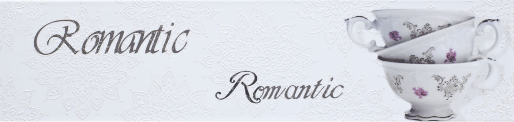 Monopole Ceramica Veronika Romantique Blanco Brillo Декор